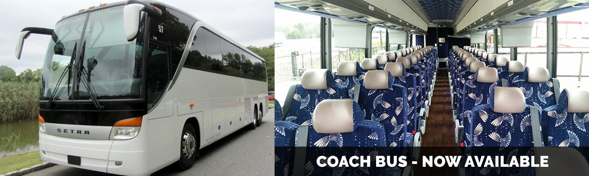 Coach Bus way to go limousine