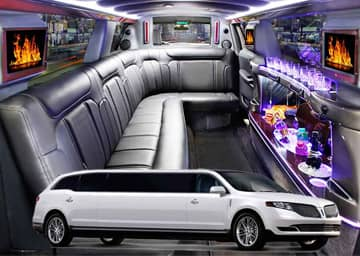 Sedan Stretch Limousine